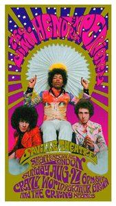 Jimi+Hendrix+Experience+Saville+Theater+August+1967+Reprint+Poster