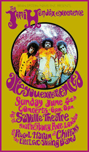 Jimi+Hendrix+Experience+Saville+Theater+June+1967+Reprint+Poster