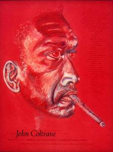 John+Coltrane+Poster+by+Rosalinda+Kalb
