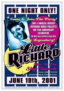 Little+Richard+Reproduction+Concert+Poster