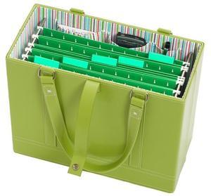 Jamie+Raquel+File+Tote+-+Lime+Green